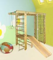 Детский спортивный комплекс с горкой Пять элементов