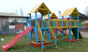 Детский игровой комплекс Три башни