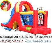 Надувной батут для детей «МЕГА-ГОРКА»