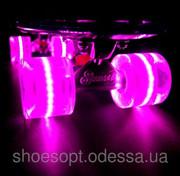 Пенни борд (Penny Board) со светящимися колесами